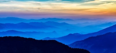 Beautiful Mountain Range